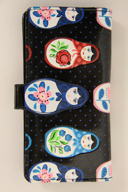 Large Shag wear Matryoshka Doll Wallet