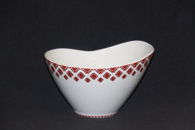 Deep Serving Wavy Bowl 9.25