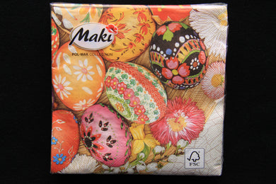 Easter Egg Napkins 20pk