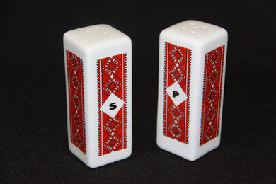 Square Salt & Pepper