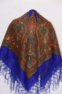 Paisley Hustka Royal Blue