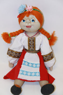 Sculpted Soft Doll- Young Girl