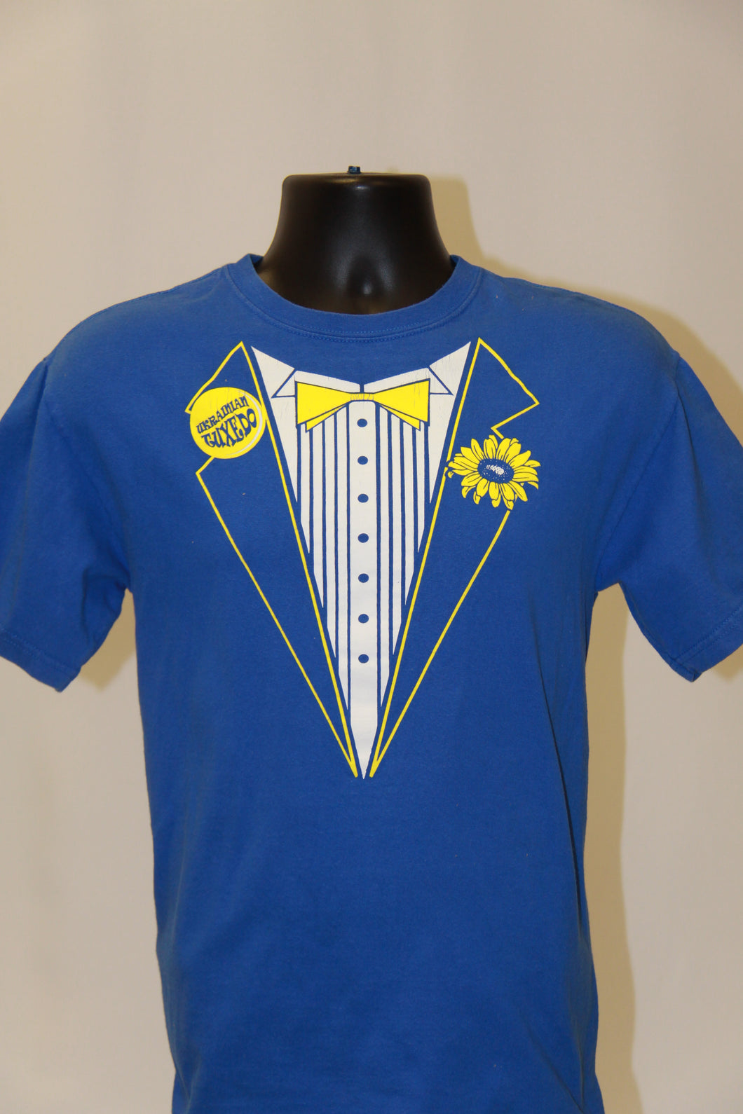 Ukrainian Tuxedo T-Shirt- Royal Blue