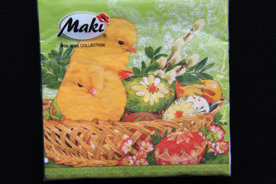 Easter Chick Napkins 20pk