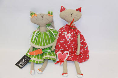 Tilda Cat Soft Dolls