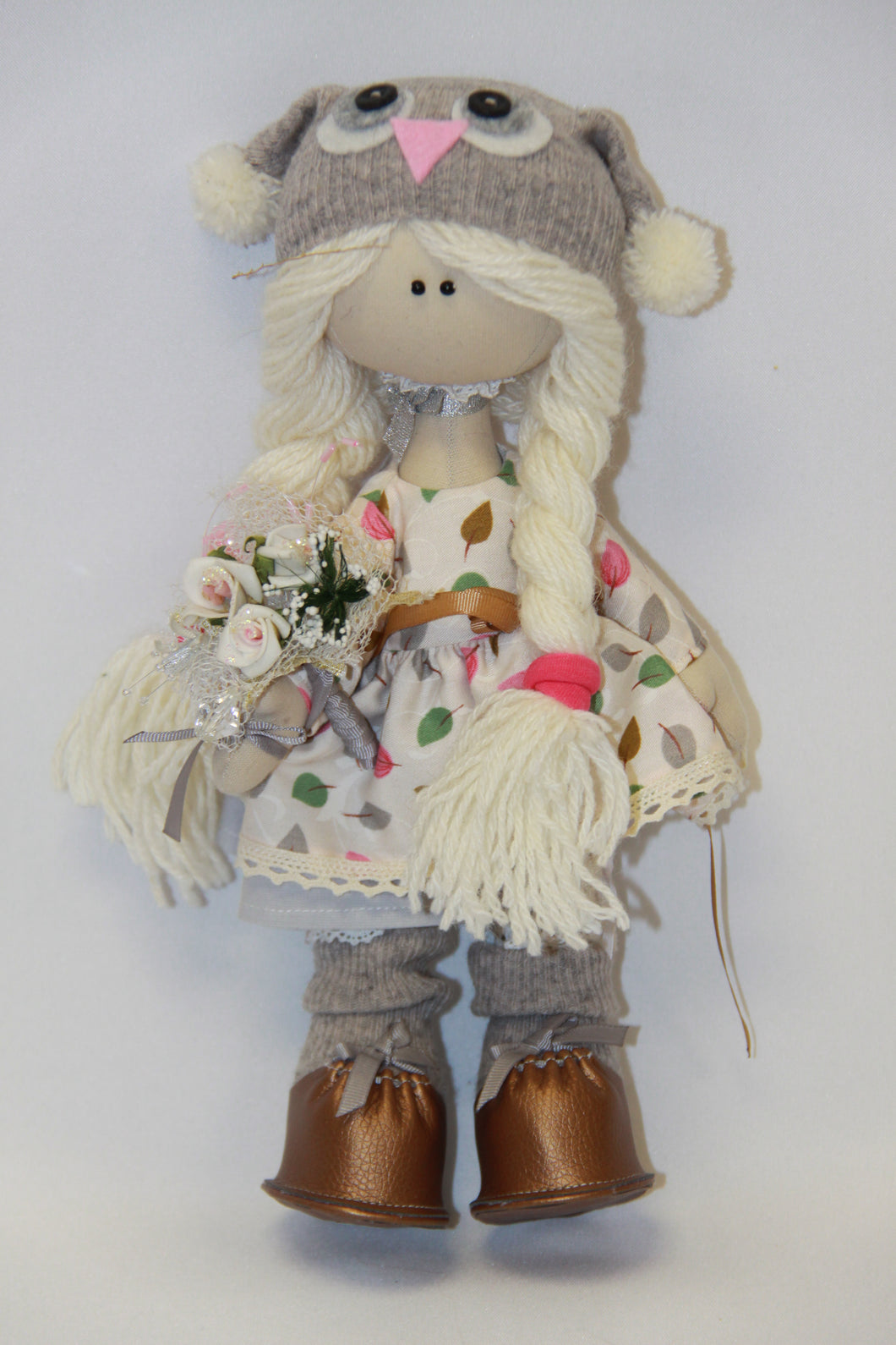 Tilda Doll with Bouquet