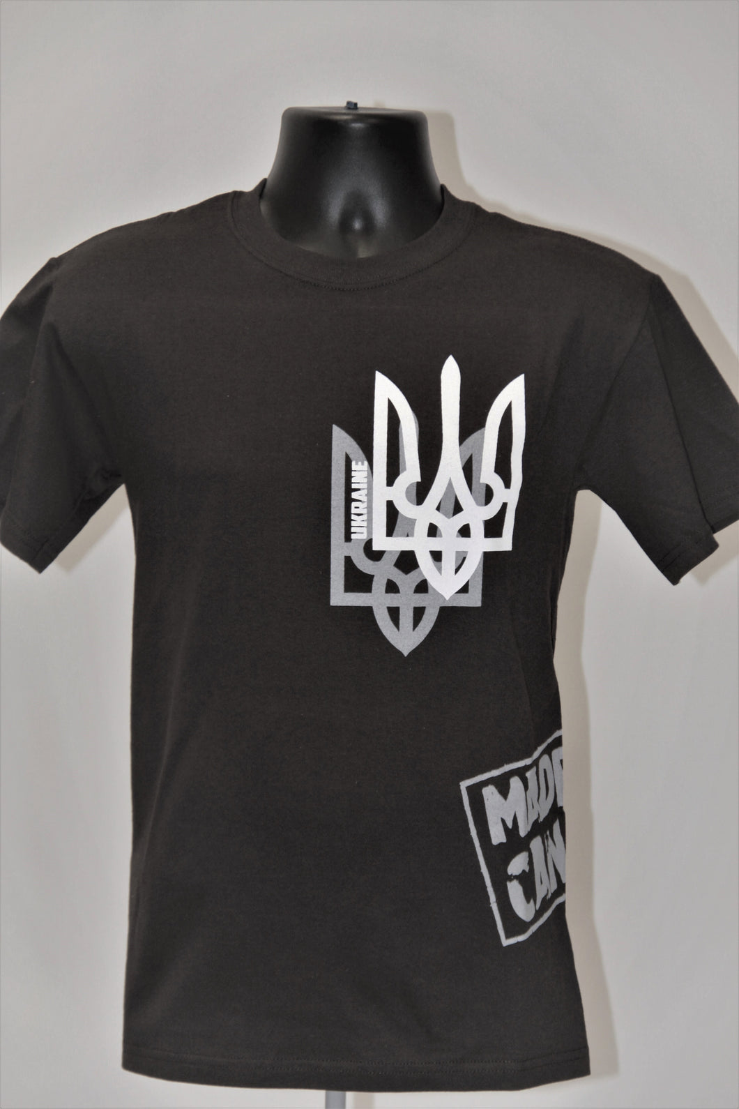 Shadow Tryzub T-Shirt- Black