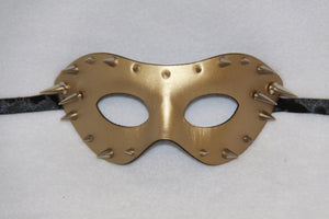 Masquerade Mask Gold Spike
