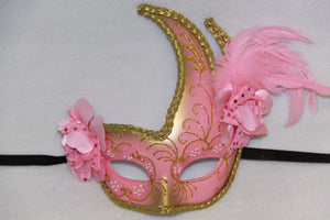 Masquerade Mask Light Pink