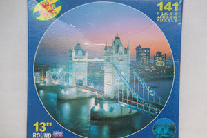 Tower Bridge, London- 141 pc Round