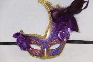 Masquerade Mask Purple
