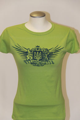 Ladies Ykpaiha Coat of Arms- Kiwi