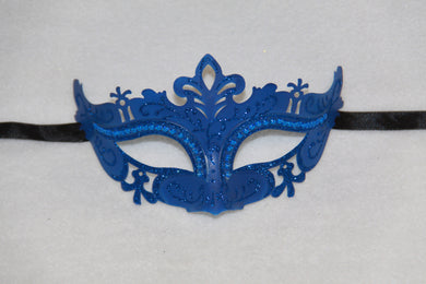 Masquerade Mask Royal Blue