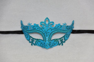 Masquerade Mask Light Blue