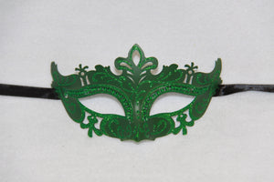 Masquerade Mask Green