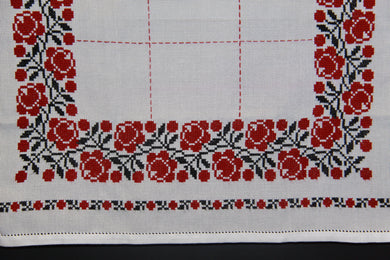 Embroidered Tablecloth 26