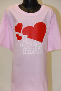 I Love BABA- Light Pink