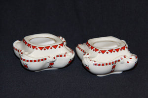 Short Candle Holder Set