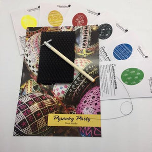 Let's Get Started - Basic Pysanky Kit