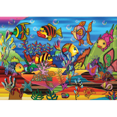 Color the Sea- 200 PC Reversible