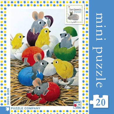 Happy Hatching- 20 pc mini puzzle