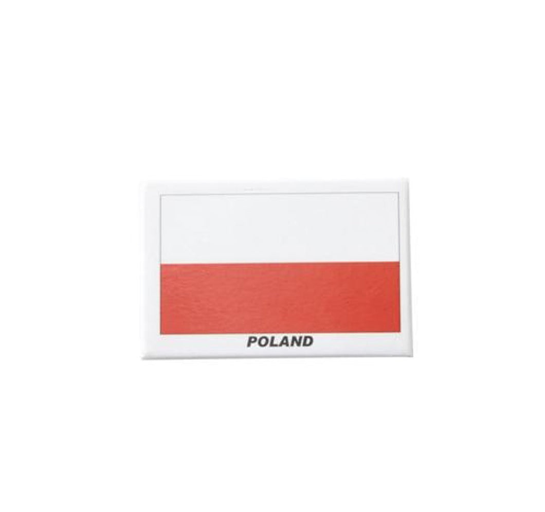 Poland fridge magnet