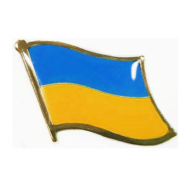 Ukraine Flag Lapel Pin
