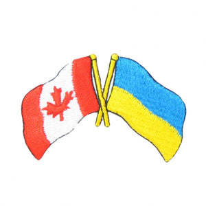 Canada Ukraine Embroidered Patch