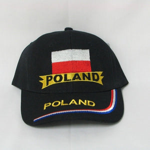 Poland embroidered cap
