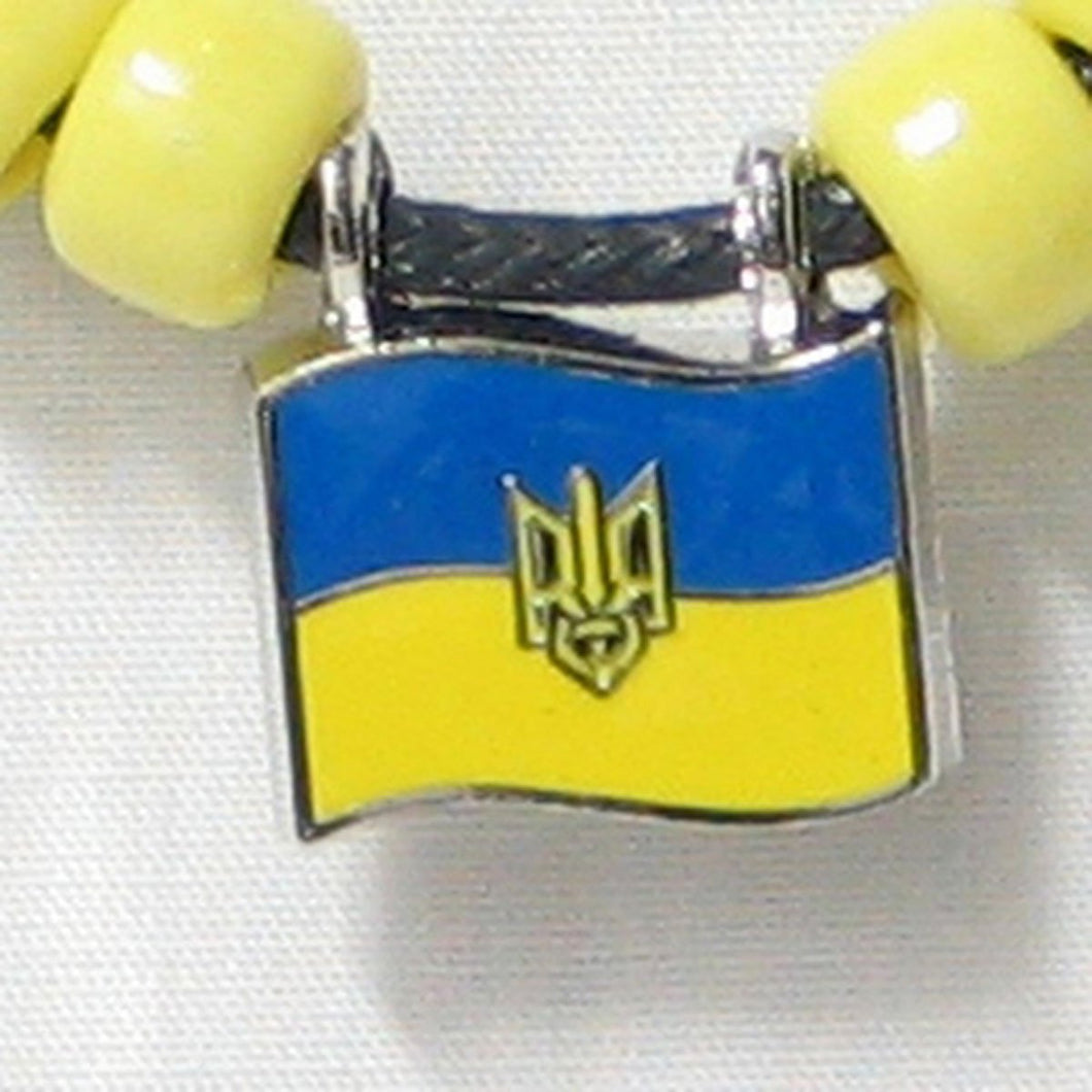 Ukraine Tryzub Pendant Necklace