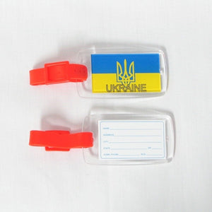 Ukraine Luggage Tag