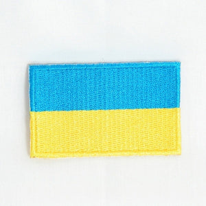 Ukraine Embroidered Flag Patch