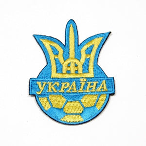 Ukraine Soccer Embroidered Patch