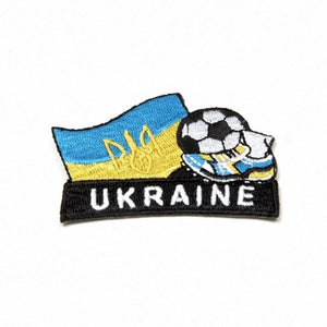 Ukraine Embroidered Soccer Patch