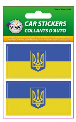 Ukraine Car Stickers