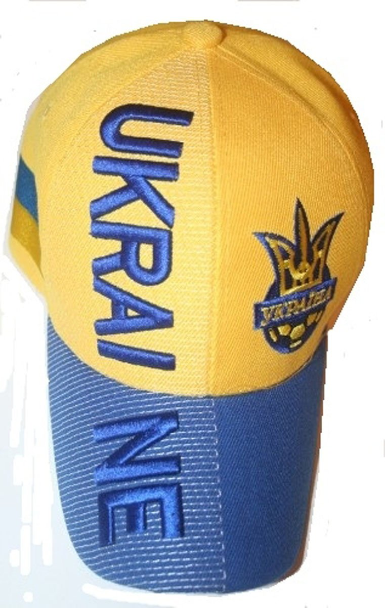 Ukraine Adult Embroidered hat