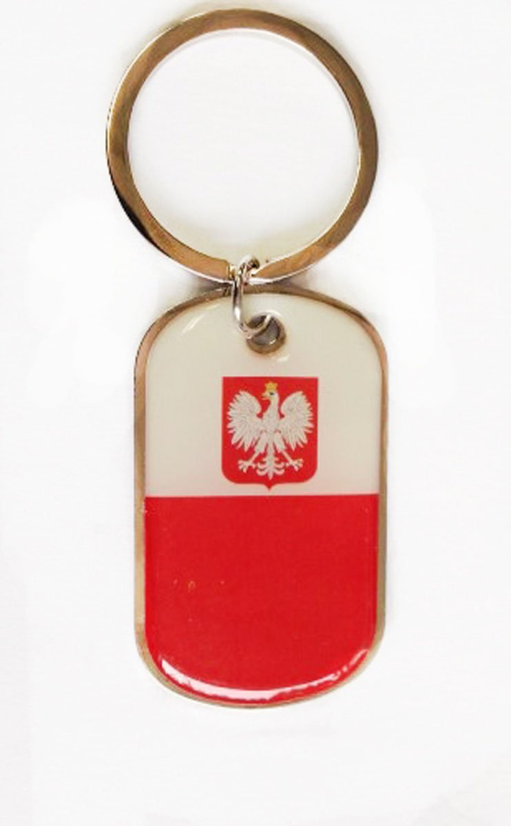 Poland key chain