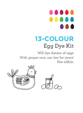 13-Colour Egg Dye Kit