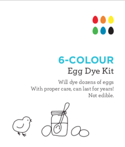 6-Colour Egg Dye Kit