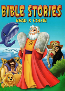 Bible Stories Read & Color