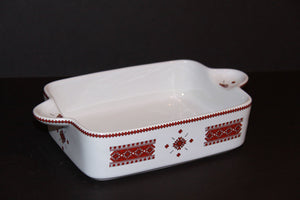 small rectangular casserole