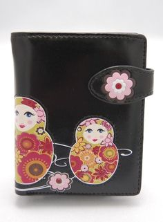 Medium Nesting Doll Shag Wear Wallet