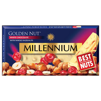 MILLENIUM Fruit and Nut White Chocolate Bar