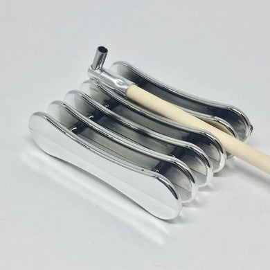 Kistky Holder - silver plastic - for Candle-Heated Kistky