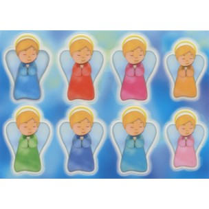 Guardian Angel Glow in the Dark Stickers