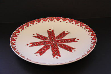 traditional dinner plate