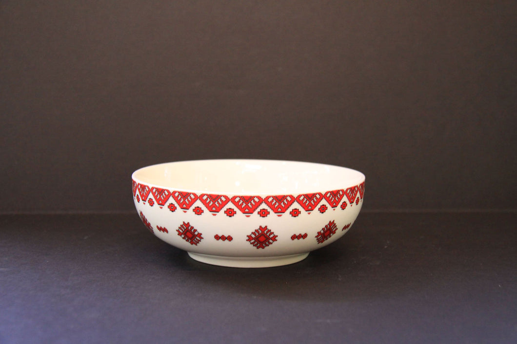 traditional dessert bowl