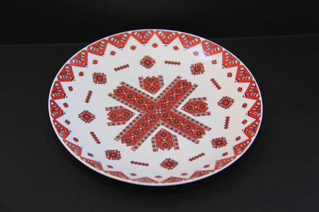 decorative plate 8