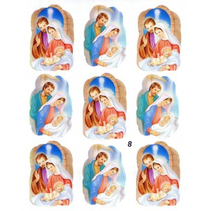 Holy Family 9 Stickers