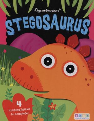 Stegosaurus Puzzle Book- 20 pc x 4